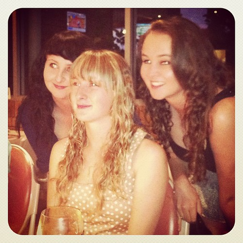 Hopey's 18th bday with Brooke and Zoe