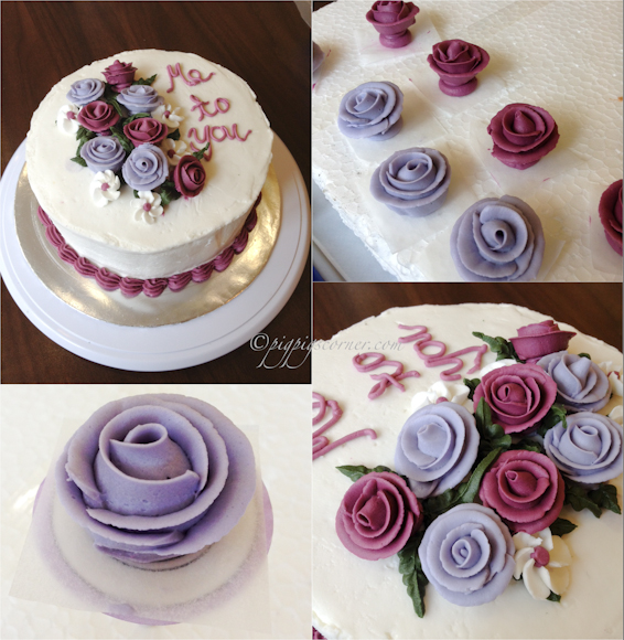 Wilton Method of Cake Decorating Course 1 Final Class