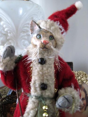 Santa Cat.