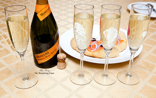 Dinner paired with Mionetto Prosecco D.O.C. Treviso Brut