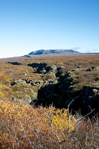 Iceland - Thingvellir 15 - plate boundary fault line