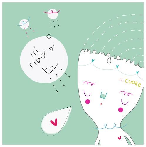 Mi fido di te by Pinkrain Indie Design