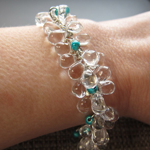 Iron Craft Challenge #52 - Icicle Bracelet