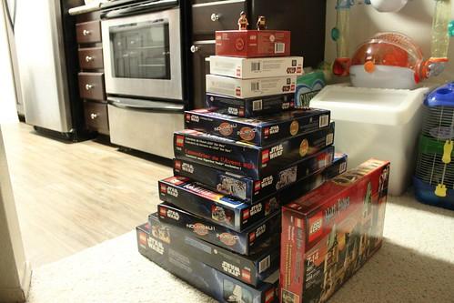 Christmas LEGO Haul