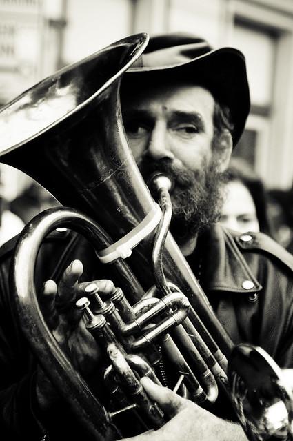 Musician, Portrait