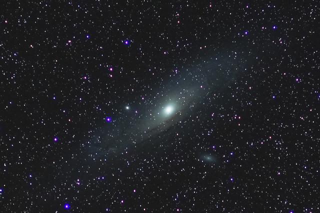 M31 Andromeda 10.5min 4 frames ISO400-1-2