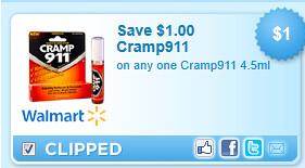 Cramp911 Coupon