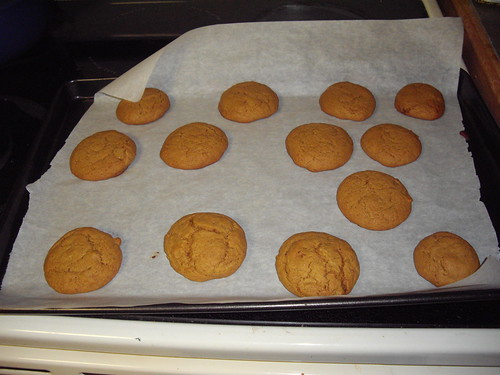 Molasses Cookies by marlenegeary