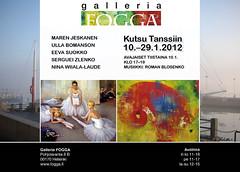 Galleria Fogga: Kutsu tanssiin -näyttelykutsu