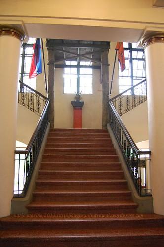Negros Museum stairway