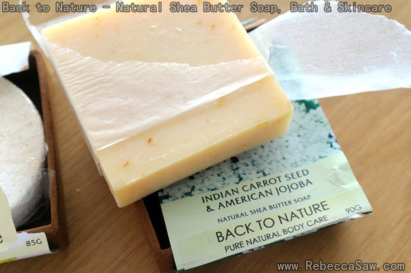 Back To Nature - Natural Shea Butter Soap-6