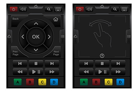 WD TV Remote app has all the features of the standard WD TV remote control, plus additional advanced features.