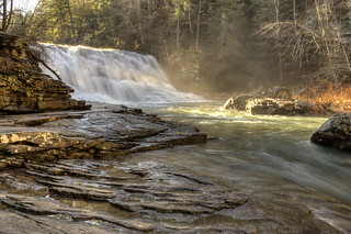Cane Creek Cascades, Fall Creek Falls State Park, Van Buren Co, TN