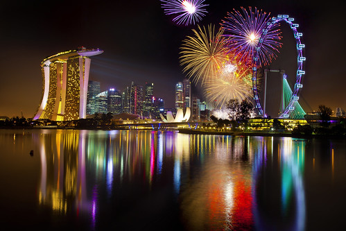 Singapore 2012 countdown : First Burst
