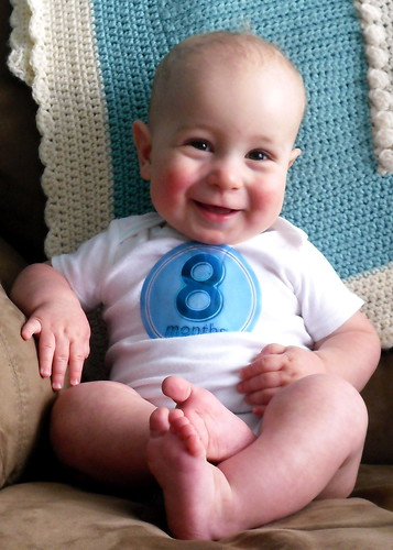 Day 98 - Eight months! by Karin Beil