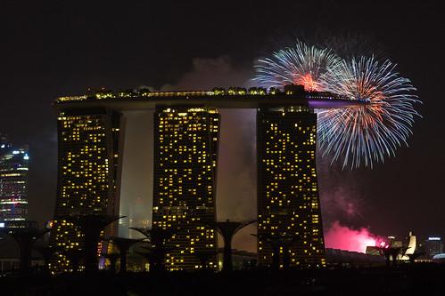 2012 Fireworks - Marina Bay #2