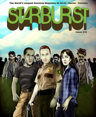 The Walking Dead Starburst Relaunch Cover