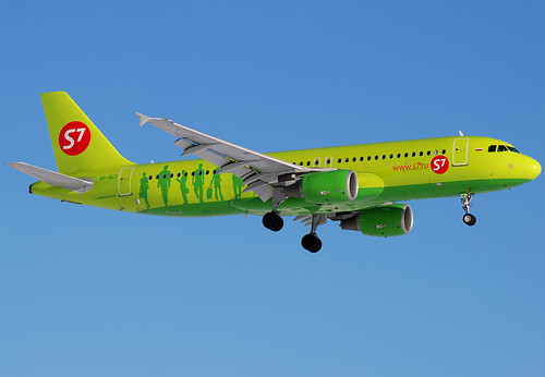 VP-BCZ S7 - Siberia Airlines  Airbus A320-214