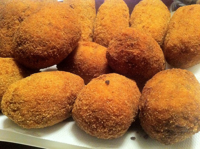 Fried Rice Balls – Supplì al telefono | In Cucina Da Me