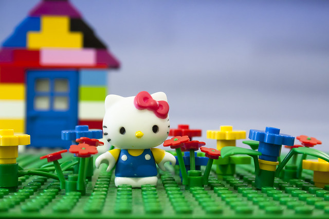 Hello Kitty Lego  Flickr - Photo Sharing!