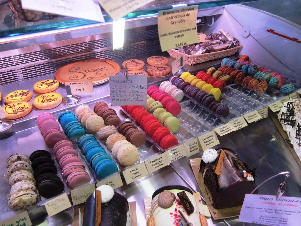 French pastry in North America