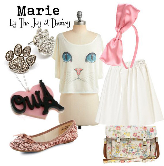 Inspired by: Marie (Aristocats)