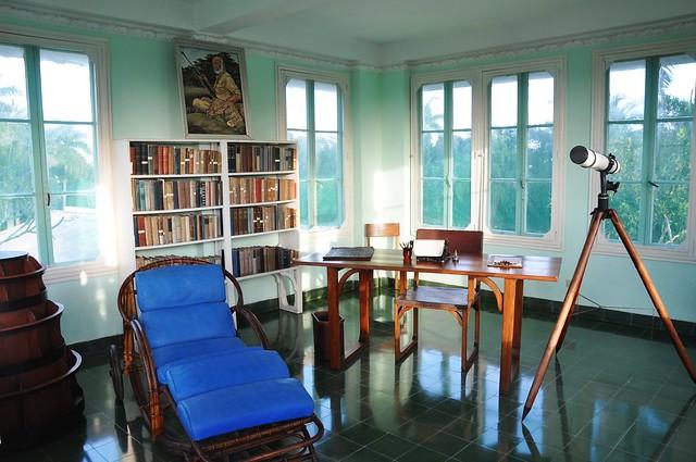 Heimingway's house, Finca Vigia in San Francisco de Paula, Cuba