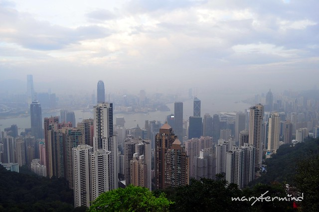 View from The Peak - Hong Kong Skyscrapers