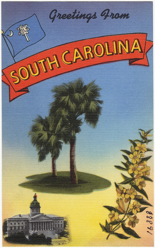 Greetings from South Carolina