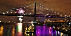 Fireworks- New Years Eve 2011 6pm/ 12am 2012 Penns Landing Philadelphia