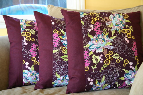 three plum pillows (2)