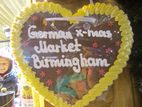 German Christmas Market in Birmingham