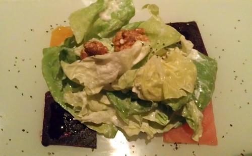 Butter Lettuce & Beet Salad