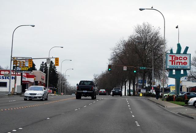 SR 167 @ SR 900 westbound