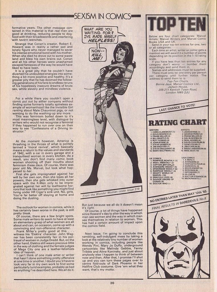 Sexism in Comics 6
