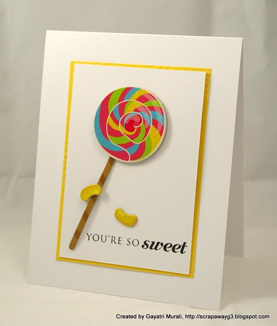 Sweet card 3