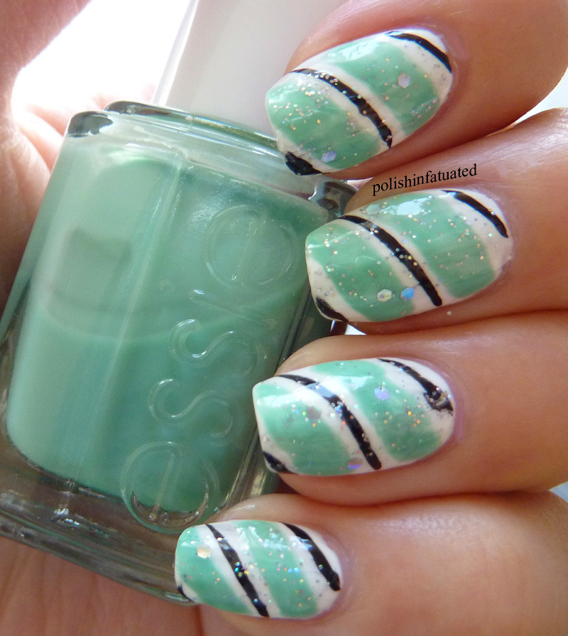 stripy nail art3