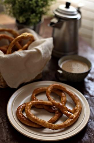 buttery pretzels