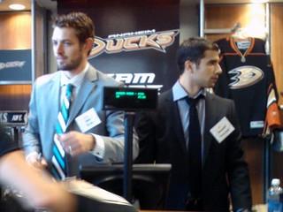 Dan Ellis @ Team Store (Honda Center) Anaheim CA