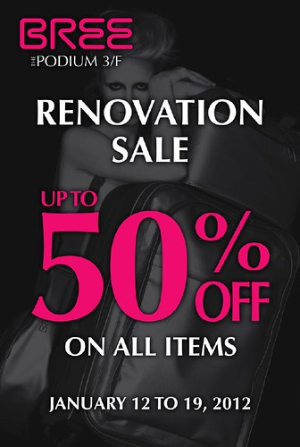 Bree Rennovation Sale Poster WEB