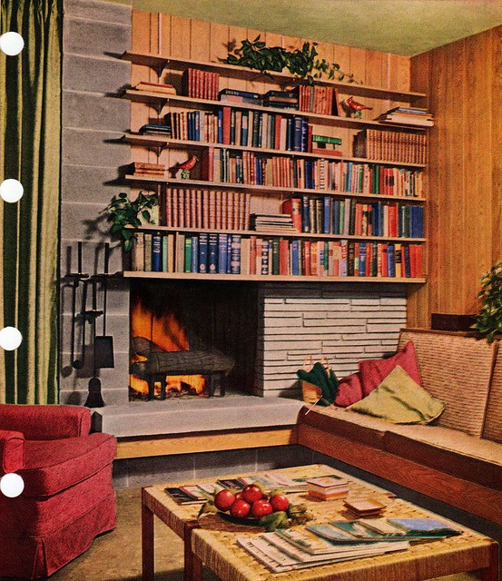 Mid Century Modern Fireplace Flickr Photo Sharing