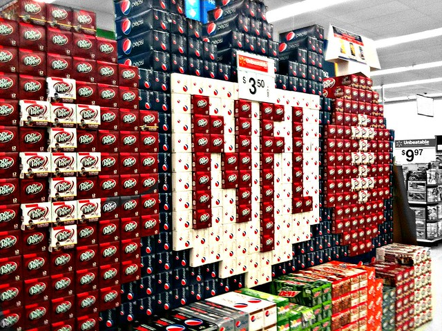 NFL Soft Drink Display  Flickr  Photo Sharing!