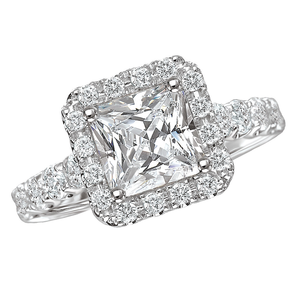 2 CARAT CENTER STONE ENGAGEMENT RING