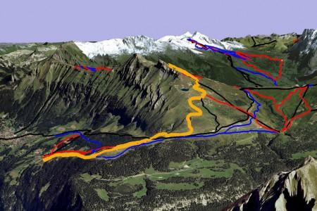 Nejkrásnější sjezdovky Švýcarska ve 3D