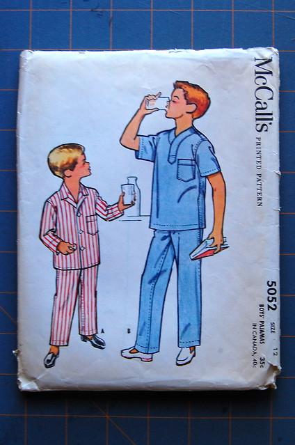 vintage boy's pajamas