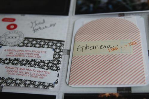 Ephemera Scrapbook