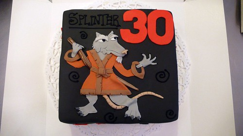 Splinter Birthday Cake by CAKE Amsterdam - Cakes by ZOBOT
