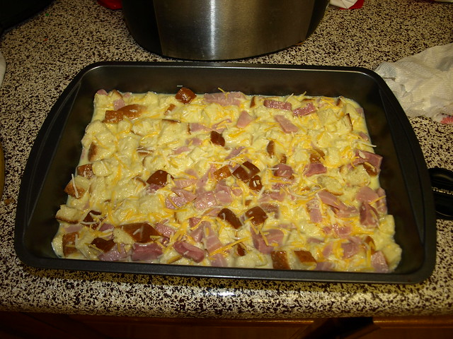 Egg Cheese Ham Casserole | Flickr - Photo Sharing!
