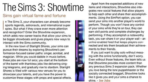 Шестой аддон The Sims 3™ Шоу-бизнес 6698423007_7c4f78af0b
