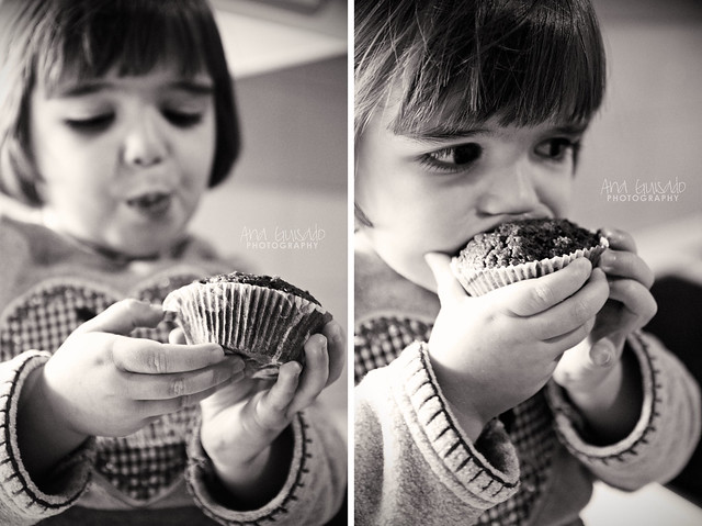 Olivia y su muffin